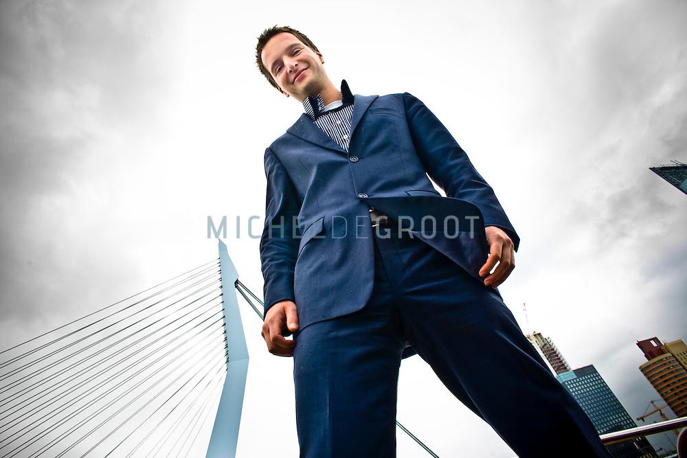 Bart van  Bueren, waterarchitect in Rotterdam, Netherlands op 04 June, 2009. (Photo by Michel de Groot)