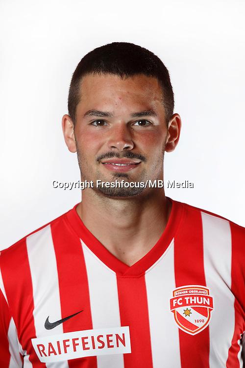 22.06.2015; Thun; Fussball Super League - Portrait FC Thun: Marco Buerki (Thun). (Christian Pfander/freshfocus)