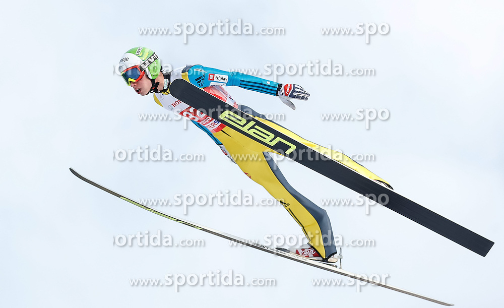 28.12.2013, Schattenbergschanze, Oberstdorf, GER, FIS Ski Sprung Weltcup, 62. Vierschanzentournee, Training, im Bild Justin Rok (SLO) // Justin Rok of Slovenia during practice Jump of 62th Four Hills Tournament of FIS Ski Jumping World Cup at the Schattenbergschanze, Oberstdorf, Germany on 2013/12/28. EXPA Pictures © 2013, PhotoCredit: EXPA/ Peter Rinderer