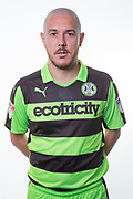 Forest Green Rovers Liam Noble(8) during the Forest Green Rovers Photocall at the New Lawn, Forest Green, United Kingdom on 31 July 2017. Photo by Shane Healey.