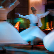 dervish dancers in Istanbul