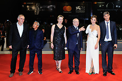 Christine Choueiri,Kamel El Basha, Diamand Bou Abboud, a guest, Ziad Doueiri,Rita Hayek,Adel Karam,Camille Salameh attending The Insult Premiere during the 74th Venice International Film Festival (Mostra di Venezia) at the Lido, Venice, Italy on August 31, 2017. Photo by Aurore Marechal/ABACAPRESS.COM