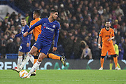 Ruben Loftus-Cheek of Chelsea (12) dribbling during the Champions League group stage match between Chelsea and PAOK Salonica at Stamford Bridge, London, England on 29 November 2018.