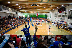 Arena SGS at last final volleyball match of 1.DOL Radenska Classic between OK ACH Volley and Salonit Anhovo, on April 21, 2009, in Arena SGS Radovljica, Slovenia. ACH Volley won the match 3:0 and became Slovenian Champion. (Photo by Vid Ponikvar / Sportida)