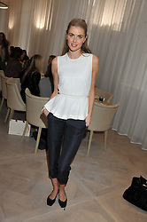 DONNA AIR at a ladies breakfast hosed by At Last! held at Grace, 11c West Halkin Street, London on 29th January 2013.