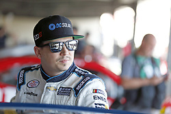 June 2, 2017 - Dover, DE, United States of America - June 02, 2017 - Dover, DE, USA: Brennan Poole (48) hangs out in the garage prior to practice for the Delaware 200 at Dover International Speedway in Dover, DE. (Credit Image: © Justin R. Noe Asp Inc/ASP via ZUMA Wire)
