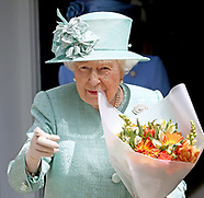 Queen Elizabeth Visits Sainsburys