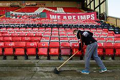 161201 - Lincoln City FA Cup preparations