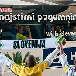 20100625: World Cup South Africa 2010, Departure of Slovenia National team
