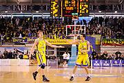 DESCRIZIONE : Ancona Lega A 2011-12 Fabi Shoes Montegranaro Bennet Cantu<br /> GIOCATORE : Coby Karl Ivan Zoroski<br /> CATEGORIA : esultanza scelta<br /> SQUADRA : Fabi Shoes Montegranaro<br /> EVENTO : Campionato Lega A 2011-2012<br /> GARA : Fabi Shoes Montegranaro Bennet Cantu<br /> DATA : 11/01/2012<br /> SPORT : Pallacanestro<br /> AUTORE : Agenzia Ciamillo-Castoria/C.De Massis<br /> Galleria : Lega Basket A 2011-2012<br /> Fotonotizia : Ancona Lega A 2011-12 Fabi Shoes Montegranaro Bennet Cantu<br /> Predefinita :