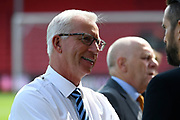 Alan Pardew before the Premier League match between Bournemouth and Manchester City at the Vitality Stadium, Bournemouth, England on 26 August 2017. Photo by Graham Hunt.