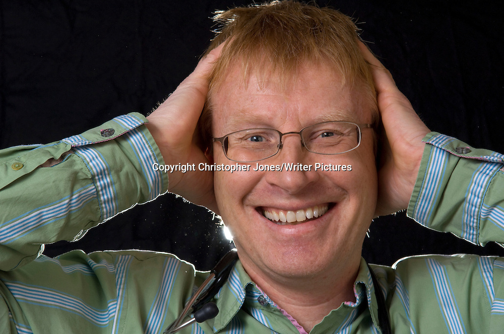 Dr. Phil Hammond <br /> 7th January 2011<br /> <br /> Photograph by Christopher Jones/Writer Pictures<br /> <br /> WORLD RIGHTS