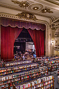 Argentina, Buenos Aires, Rocoleta neighborhood, El Ateneo Grand Splendid