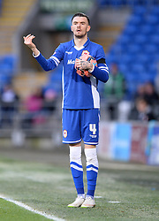 Cardiff City's Scott Malone - Photo mandatory by-line: Alex James/JMP - Mobile: 07966 386802 - 24/01/2015 - SPORT - Football - Cardiff - Cardiff City Stadium - Cardiff City v Reading - FA Cup Fourth Round