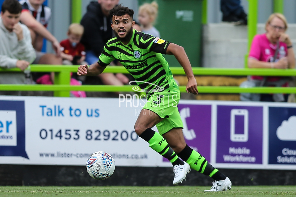 Forest Green Rovers Dominic Bernard(3) during the EFL Sky Bet League 2 match between Forest Green Rovers and Grimsby Town FC at the New Lawn, Forest Green, United Kingdom on 17 August 2019.