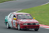 #57 JAY / MURTHA Alfa Romeo 75  during CSCC Advantage Motorsport Future Classics as part of the CSCC Oulton Park Cheshire Challenge Race Meeting at Oulton Park, Little Budworth, Cheshire, United Kingdom. June 02 2018. World Copyright Peter Taylor/PSP.