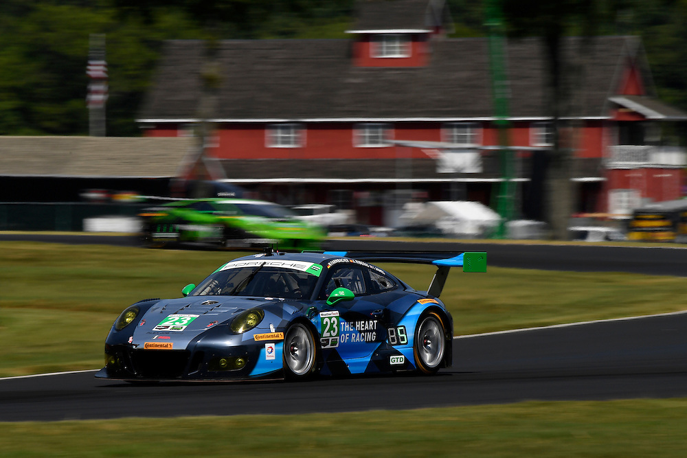 26-28 August, 2016, Alton, Virginia USA<br /> 23, Porsche, GT3 R, GTD, Mario Farnbacher, Alex Riberas<br /> &copy;2016, Scott R LePage <br /> LAT Photo USA