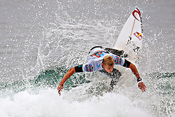 HUNTINGTON BEACH, California/USA (Sunday, August 8, 2010) - Two-Time ASP World Champion Mick Fanning of Australia at US Open of Surfing 2010 Mens Quarter Finals Heat 2