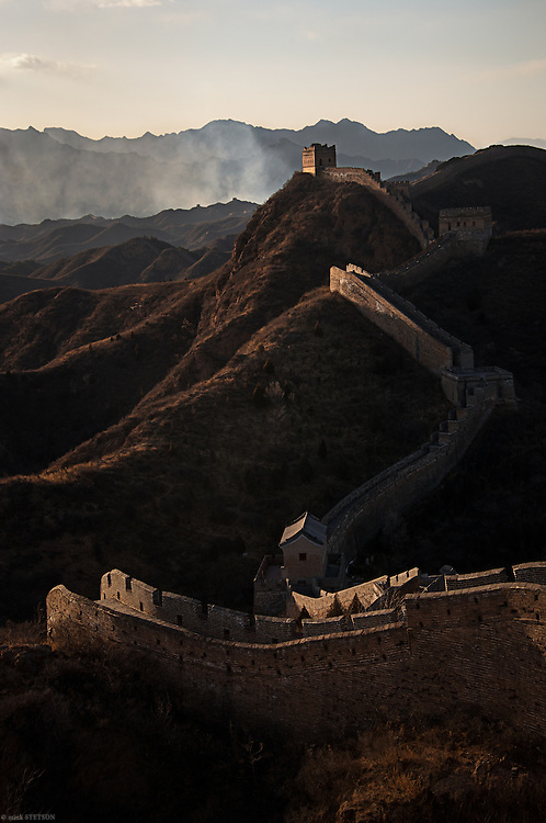 — It was built to protect the northern boundary of Imperial China from invading nomadic tribes from Mongolia and the Eurasian steppes. The construction of the wall started in the 5th century BC and extended nearly 9,000 kilometers.