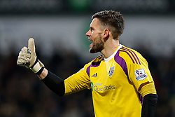 Ben Foster of West Brom gives a thumbs up - Photo mandatory by-line: Rogan Thomson/JMP - 07966 386802 - 11/02/2015 - SPORT - FOOTBALL - West Bromwich, England - The Hawthorns - West Bromwich Albion v Swansea City - Barclays Premier League.