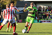 Forest Green Rovers Dayle Grubb(8) runs forward during the EFL Sky Bet League 2 match between Forest Green Rovers and Cheltenham Town at the New Lawn, Forest Green, United Kingdom on 20 October 2018.