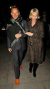 14.DECEMBER.2007. LONDON<br /> <br /> STING AND TRUDIE STYLER ARRIVING AND LEAVING MATTHEW FREUD&rsquo;S CHRISTMAS PARTY WHO IS MARRIED TO RUPERT MURDOCH&rsquo;S DAUGHTER ELIZABETH IN WEST LONDON.<br /> <br /> BYLINE: EDBIMAGEARCHIVE.CO.UK<br /> <br /> *THIS IMAGE IS STRICTLY FOR UK NEWSPAPERS AND MAGAZINES ONLY*<br /> *FOR WORLD WIDE SALES AND WEB USE PLEASE CONTACT EDBIMAGEARCHIVE - 0208 954 5968*