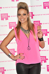 Krystal Roxx attends the launch party for Breast Cancer Campaign at Tower 42, London, England, October 1, 2012. Photo by Chris Joseph / i-Images.