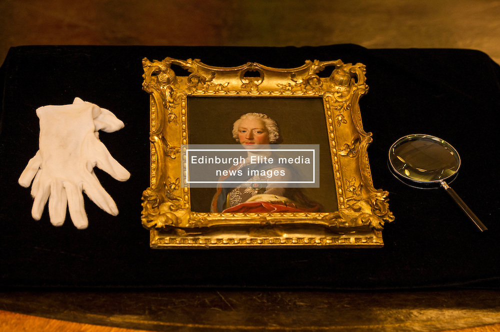 Pictured: <br /> The Portrait of Bonnie Prince Charlie, newly acquired by the National Galleries of Scotland under the Acceptance in Lieu of tax scheme and valued at £1.1 million, is thought to have been created by artist Allan Ramsay in Edinburgh in 1745, at the height of the Jacobite rising. The portraits is the only one of the Prince Charles to have been painted in Britain.<br /> <br /> Ger Harley | EEm 30 March 2016