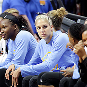 UNCASVILLE, CONNECTICUT- MAY 05:  Elena Delle Donne #11 of the Chicago Sky on the bench during the San Antonio Stars Vs Connecticut Sun preseason WNBA game at Mohegan Sun Arena on May 05, 2016 in Uncasville, Connecticut. (Photo by Tim Clayton/Corbis via Getty Images)