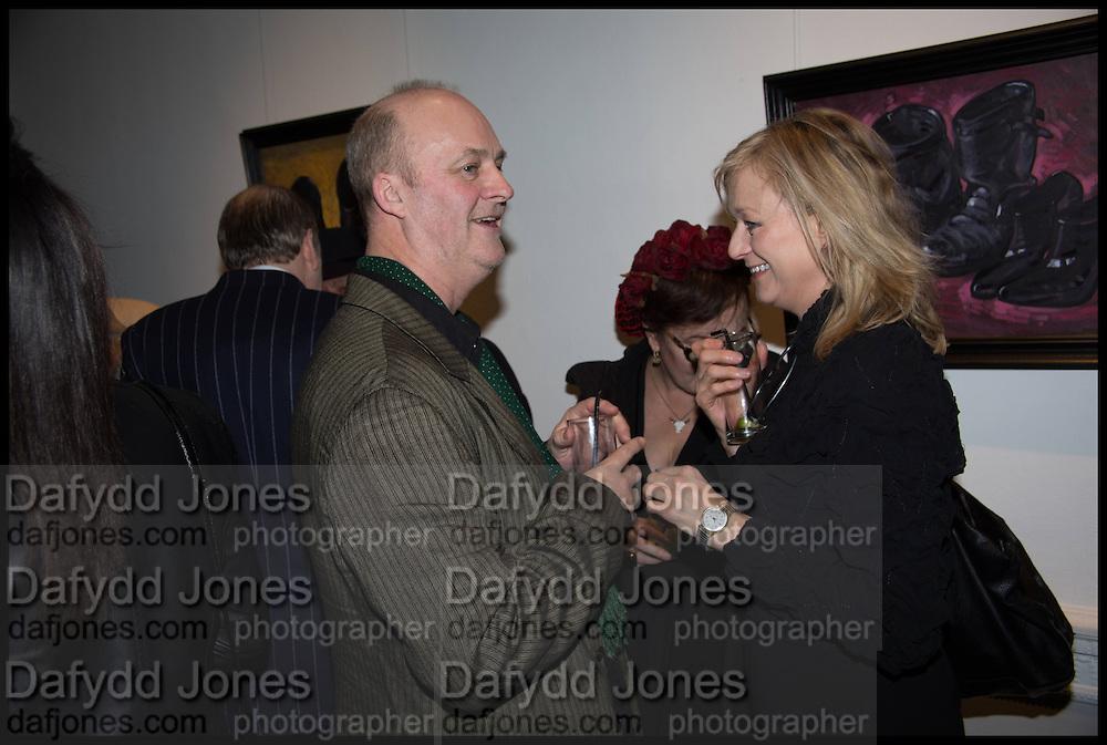 TIM MCENENY, Private view, Paul Simonon- Wot no Bike, ICA Nash and Brandon Rooms, London. 20 January 2015