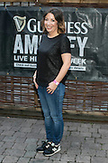 Repro Free: 9/10/2014 Lisa Fitzsimons pictured at The Odeon, Dublin for the surprise Guinness Amplify Live gig. Music fans in Dublin were treated to an extra special experience as three of most highly acclaimed musicians of 2014, Kidnap Kid, Jess Glynn and Rudimental, played surprise performances. <br /> Guinness Amplify connects the freshest new music talent with audiences all over the country, as well as providing them with some of the resources and industry expertise they need to help them along the way. Picture Andres Poveda<br /> <br /> Full details of the Guinness Amplify programme are available on www.guinnessamplify.com.  Enjoy Guinness Sensibly. Visit www.drinkaware.ie<br /> ENDS<br /> For further information please contact:                                                                              <br /> Julie Blakeney, WH, on 0863420794 or Kristin Fox, WH, on 0872211916