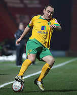 Doncaster - Friday January 30th 2009: Lee Croft of Norwich City during the Coca Cola Championship Match at The Keepmoat Stadium Doncaster. (Pic by Steven Price/Focus Images)
