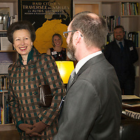 The Princess Royal Visits The Royal Geographical Society (RSGS) in Perth...15.09.15<br /> The Princess Royal tours Lord John Murray House in Perth, home to the Royal Scottish Geographical Society and is pictured with Mr Craig Mathieson Explorer in Residence, RSGS and founder The Polar Academy in the Explorers Room.<br /> for further info please contact Gemma McDonald RSGS Comms Officer on 01738 646141 or 07867 524072<br /> Picture by Graeme Hart.<br /> Copyright Perthshire Picture Agency<br /> Tel: 01738 623350  Mobile: 07990 594431
