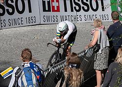 26.09.2018, Innsbruck, AUT, UCI Straßenrad WM 2018, Einzelzeitfahren, Elite, Herren, von Rattenberg nach Innsbruck (54,2 km), im Bild Sieger Rohan Dennis (AUS) // winner Rohan Dennis of Australia during the men's individual time trial from Rattenberg to Innsbruck (54,2 km) of the UCI Road World Championships 2018. Innsbruck, Austria on 2018/09/26. EXPA Pictures © 2018, PhotoCredit: EXPA/ Reinhard Eisenbauer