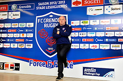 Former Leinster and Ireland Rugby Union player and now the Defence Coach with FCG Grenoble in the Top 14 France.