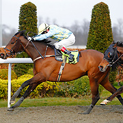 Teen Ager and Jimmy Quinn winning the 4.50 race