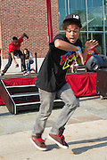 Hip Hop Street performers at Navy pier, Chicago, IL, USA
