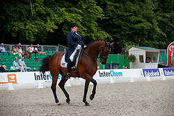 Francis Shelly, USA, Doktor<br /> CDI 3* Grand Prix - CHIO Rotterdam 2017<br /> © Hippo Foto - Dirk Caremans<br /> Francis Shelly, USA, Doktor