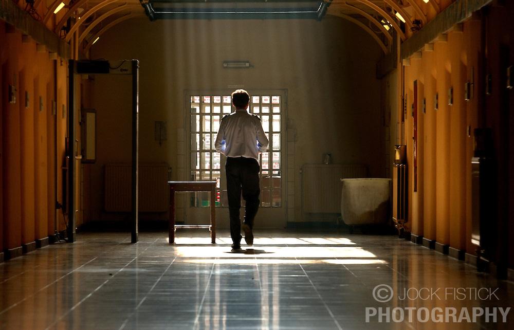 GHENT, BELGIM - OCT-22-2003 - Ghent prison  (PHOTO © JOCK FISTICK)