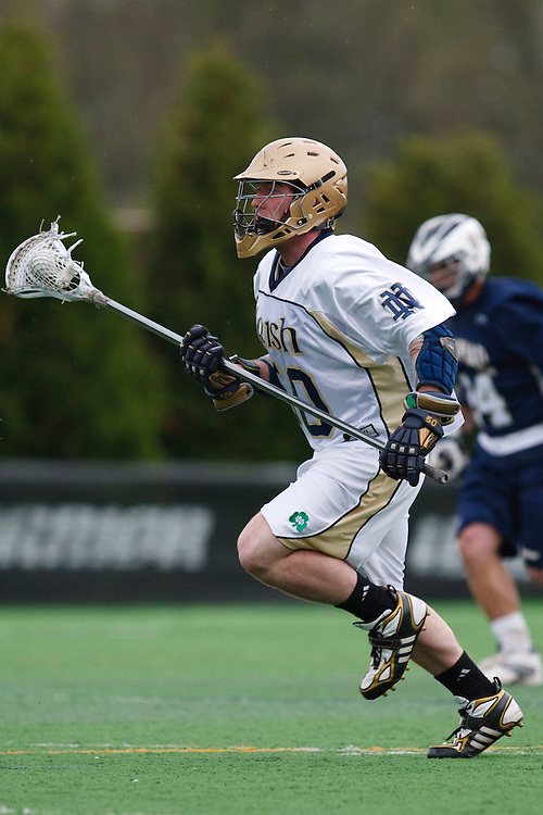 May 1, 2009:    #50 Andrew Irving of Notre Dame in action during the NCAA Lacrosse game between Notre Dame and Quinnipiac at GWLL Tournament in Birmingham, Michigan. (Credit Image: Rick Osentoski/Cal Sport Media)