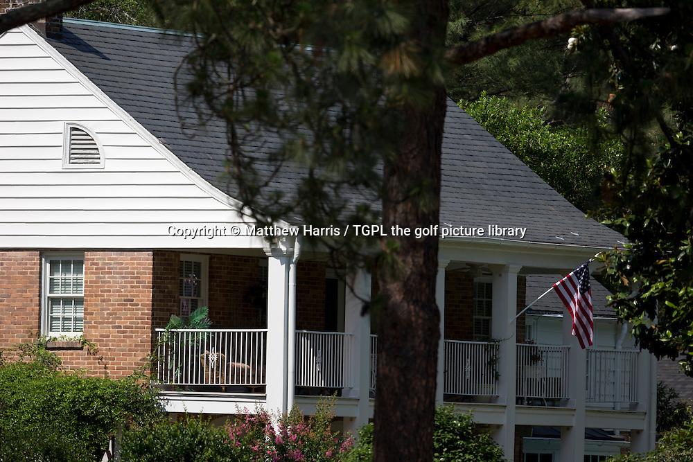 Course architect Donald Ross house during third round US Open Championship 2014,Pinehurst No 2,Pinehurst,North Carolina,USA.