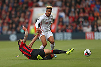 Football - 2019 / 2020 Premier League - AFC Bournemouth vs. Sheffield United<br /> <br /> Bournemouth's Steve Cook slides in to win the ball from Callum Robinson of Sheffield United during the Premier League fixture at the Vitality Stadium (Dean Court) Bournemouth <br /> <br /> COLORSPORT/SHAUN BOGGUST