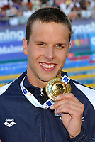 Alexander Dale Oen (NOR) gold medal<br /> Men's 100m Breaststroke - 100m rana Uomini<br /> Swimming European Championships Budapest 2010 - Campionati Europei di Nuoto Budapest 2010<br /> Swimming finals - Finali<br /> Budapest (Hungary), 10/08/2010<br /> © Giorgio Perottino /Insidefoto