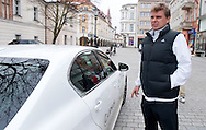 (R) Marcin Matkowski of Poland with official car by Lexus after official draw one day before the BNP Paribas Davis Cup 2013 between Poland and South Africa at MOSiR Hall in Zielona Gora on April 04, 2013...Poland, Zielona Gora, April 04, 2013..Picture also available in RAW (NEF) or TIFF format on special request...For editorial use only. Any commercial or promotional use requires permission...Photo by © Adam Nurkiewicz / Mediasport