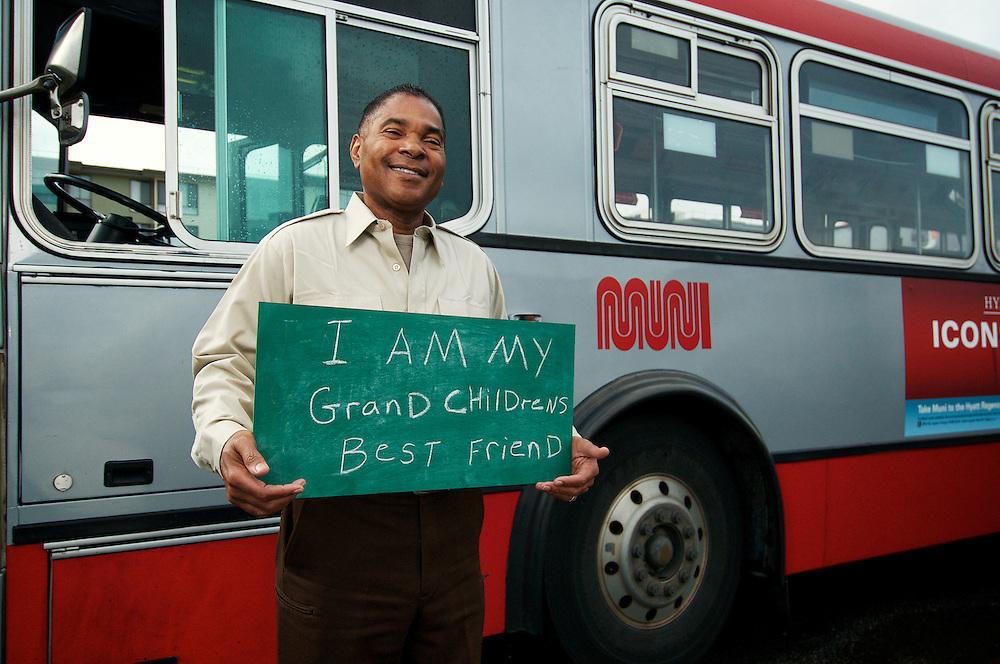 William Robinson, Kirkland Division Operator | I am my Grand Children's Best Friend | I am Muni.