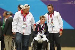 Bando, Britta;<br /> Näpel, Britta;<br /> Fliegl, Bernhard, <br /> London Paralympics 2012<br /> Grade II<br /> © www.sportfotos-lafrentz.de/ Stefan Lafrentz