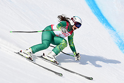 PERRINE Melissa B2 AUS Guide: GEIGER Christian competing in the Para Alpine Skiing Downhill at the PyeongChang2018 Winter Paralympic Games, South Korea