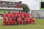 Out take of Lancashire T20 squad during the Lancashire County Cricket Club T20 Media Day at the Emirates, Old Trafford, Manchester, United Kingdom on 1 June 2018. Picture by George Franks.