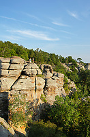 Garden of the Gods Recreation Area, Shawnee National Forest, Illinois.