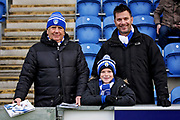 Colchester fans before the EFL Sky Bet League 2 match between Colchester United and Morecambe at the JobServe Community Stadium, Colchester, England on 29 December 2018.